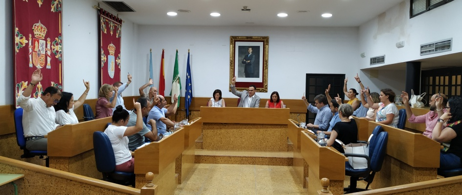 31 julio Pleno Ordinario Ayto Lebrija