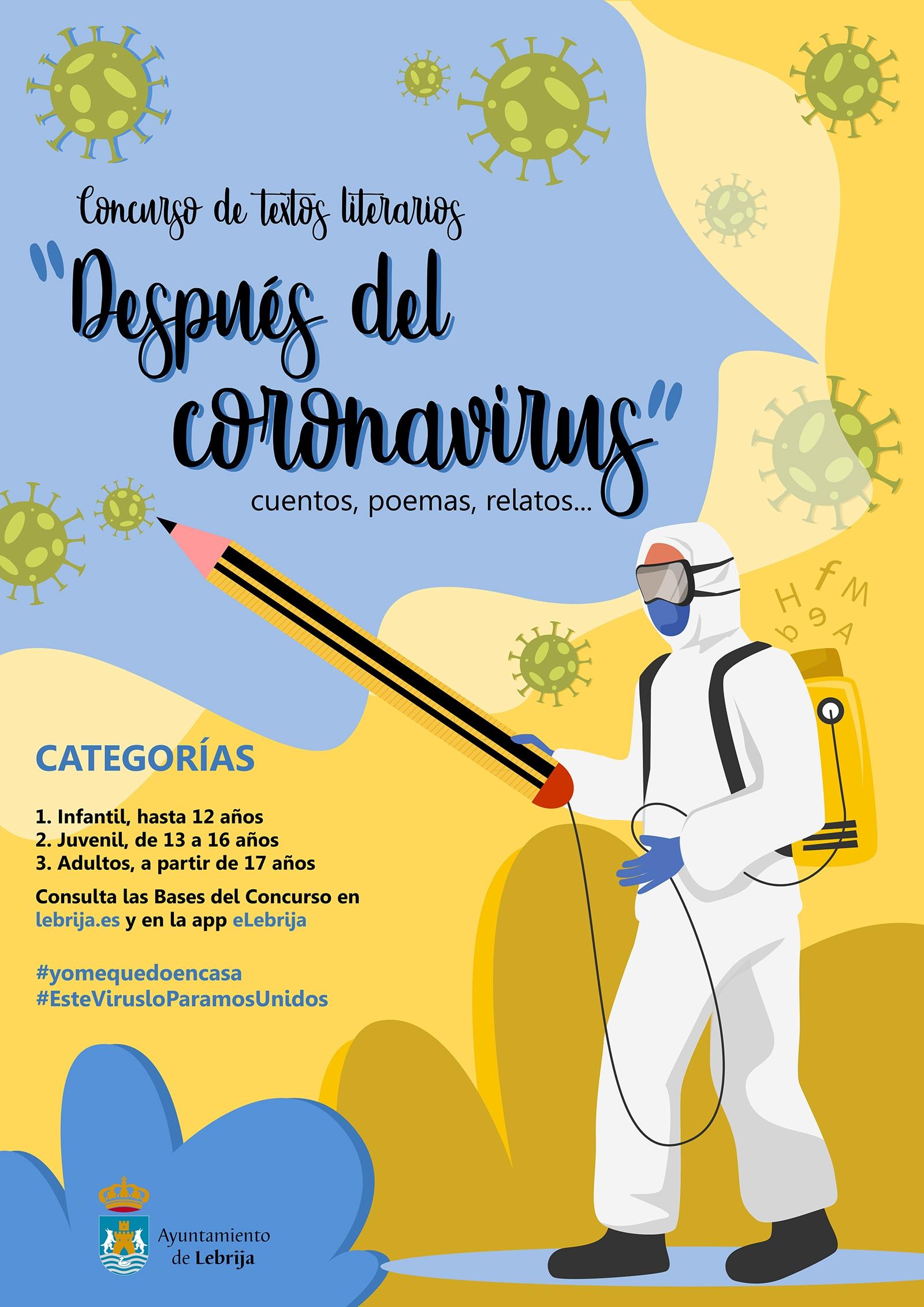 UP CARTEL DEL CONCURSO DESPUES DEL CORONAVIRUS